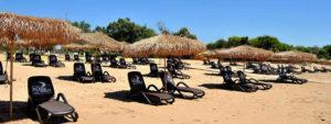 La spiagga del Le Dune Resort