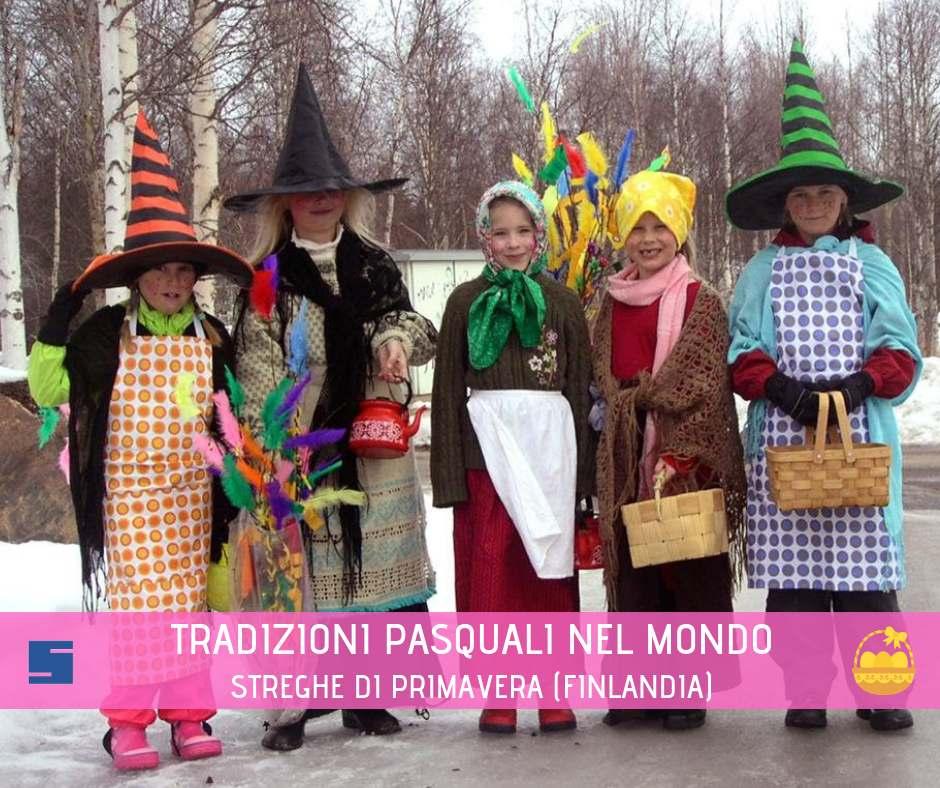tradizioni pasquali nel mondo in Finlandia