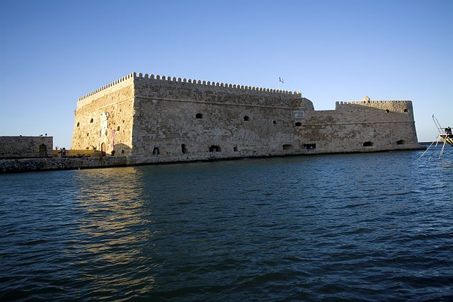 La fortezza di Koules a Creta